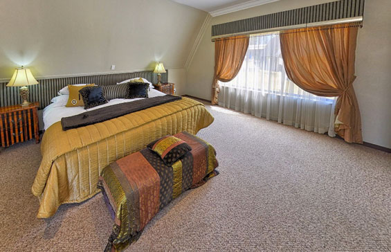 A double room at Lavender Hill Country Estate.