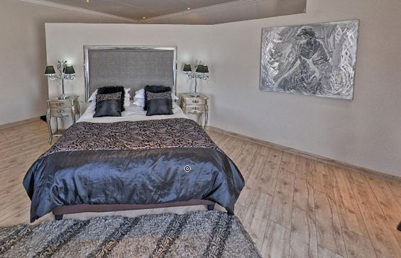 A view of the inside of a standard room at Lavender Hill Country Estate.